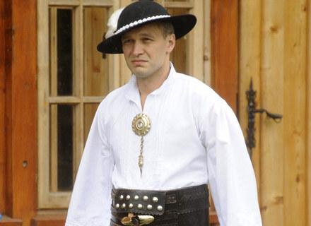 Michał Żebrowski - góral pełną piersią / fot. Baranowski /AKPA