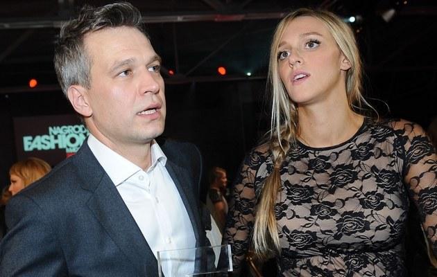 Michał Żebrowski i Aleksandra Adamczyk /- /MWMedia