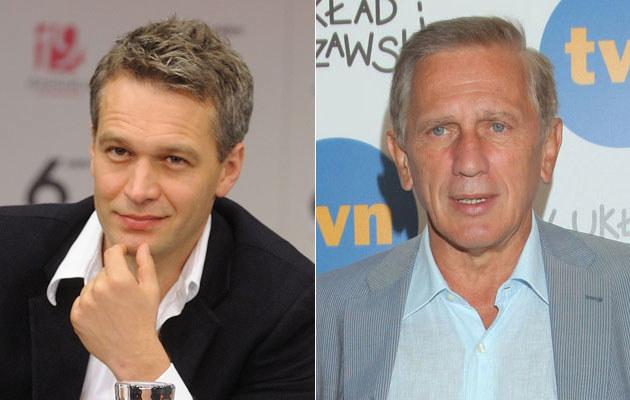Michał Żebrowski/ Jan Englert /Jarosław Antoniak/ Paweł Wrzecion /MWMedia