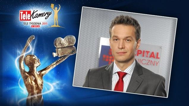 """Michał Żebrowski został nominowany w plebiscycie Telekamery """"Tele Tygodnia"""" /www.nadobre.tvp.pl/"""