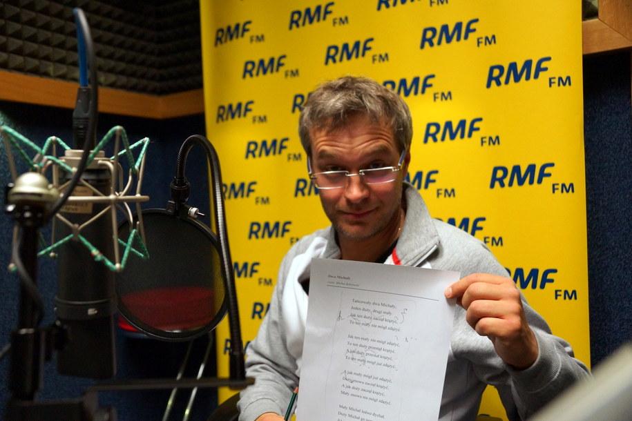 Michał Żebrowski /Michał Dukaczewski /RMF FM