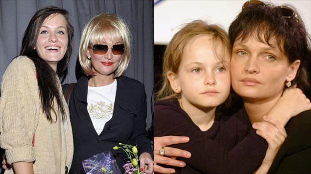 Michalina Robakiewicz poszła w ślady mamy i również została aktorką. /AKPA