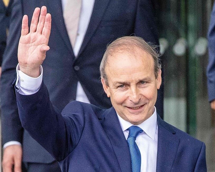 Micheal Martin, premier Irlandii /AFP