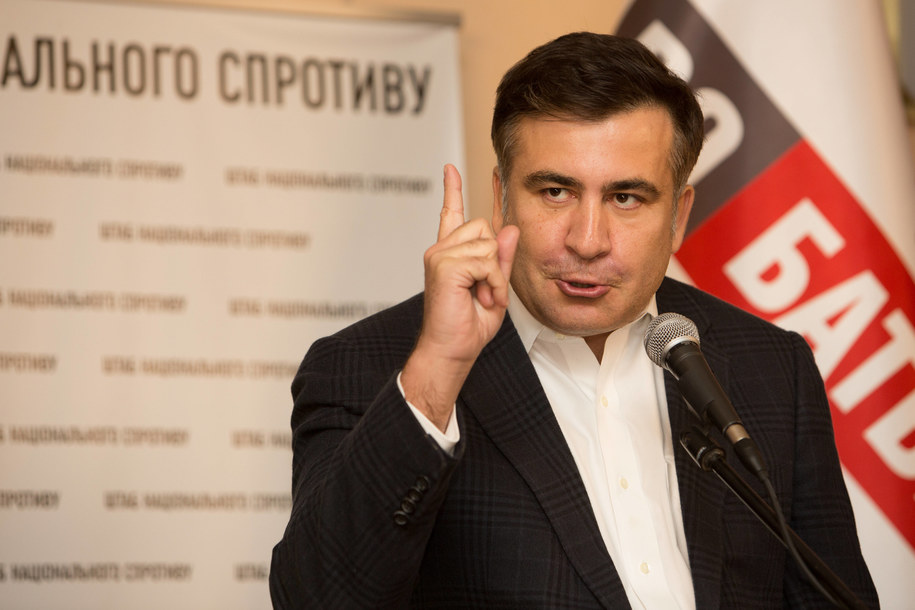 Micheil Saakaszwili /Jan A. Nicolas/DPA /PAP