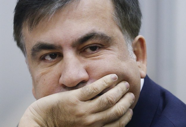 Micheil Saakaszwili / SERGEY DOLZHENKO    /PAP/EPA