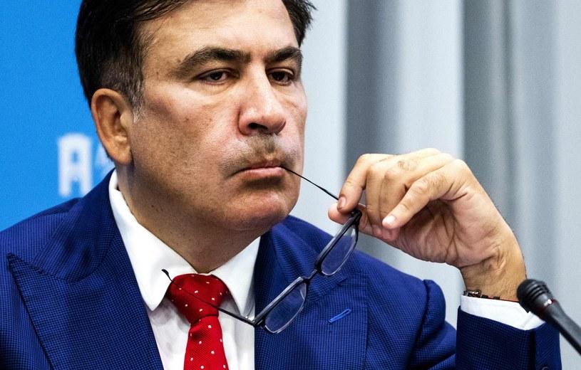 Micheil Saakaszwili / REMKO DE WAAL    /AFP