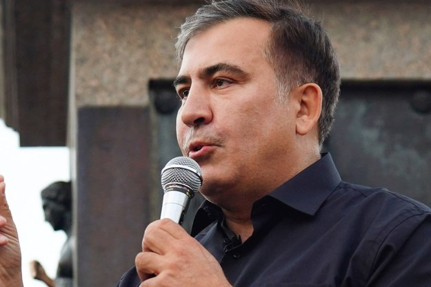 Micheil Saakaszwili /Arkhip Vereshchagin\TASS /PAP/EPA