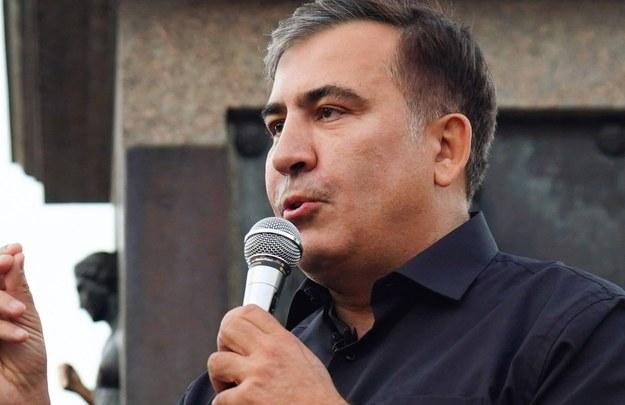 Micheil Saakaszwili /Arkhip Vereshchagin /PAP/EPA