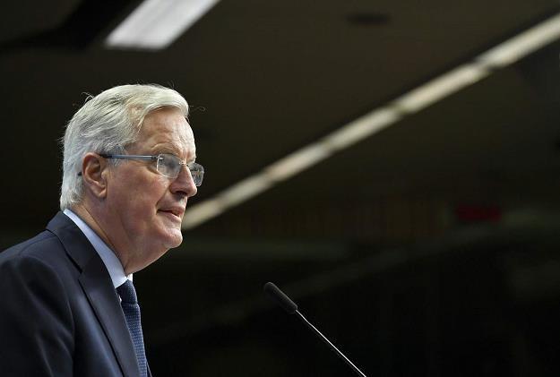 Michel Barnier, główny negocjator ws. brexitu (ze strony UE) /AFP