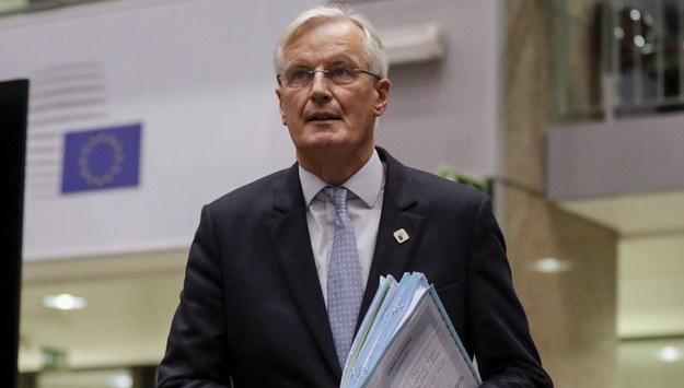 Michel Barnier /OLIVIER HOSLET / POOL /PAP/EPA