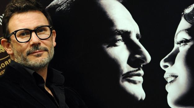 "Michel Hazanavicius, reżyser filmu ""Artysta"" /AFP"