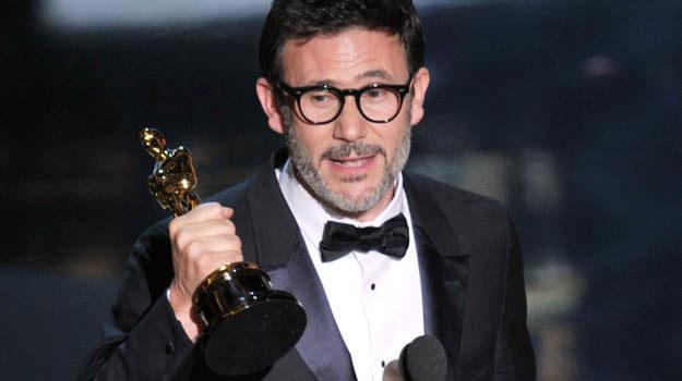 """Michel Hazanavicius - reżyser zwycięskiego '""""Artysty"""" - fot. Kevin Winter /Getty Images/Flash Press Media"""