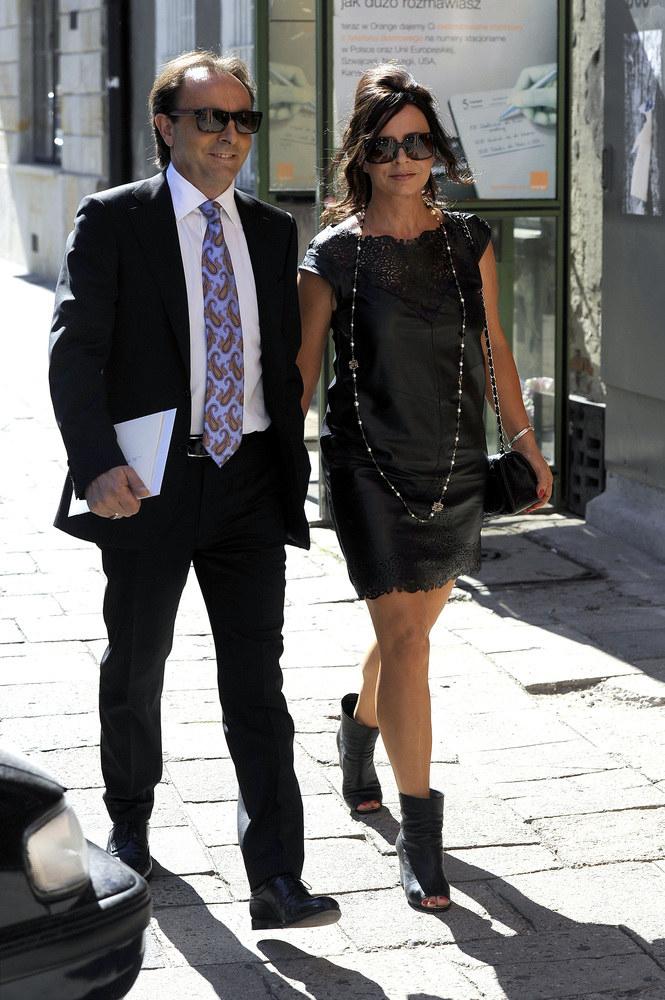 Michel Moran z żoną Haliną /Piętka Mieszko /AKPA