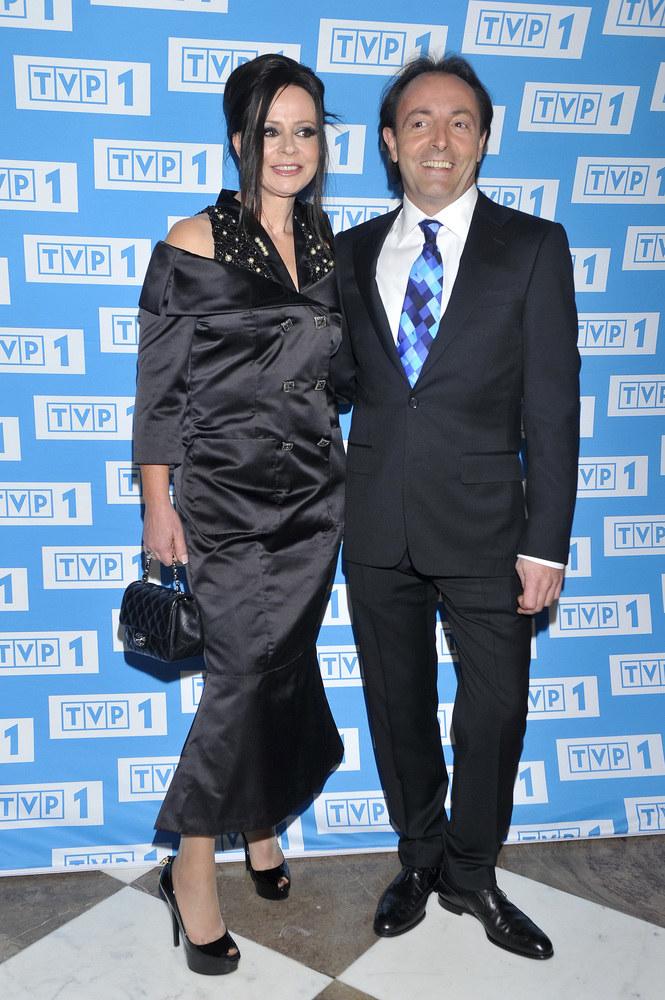 Michel Moran z żoną Haliną /Jacek Kurnikowski /AKPA