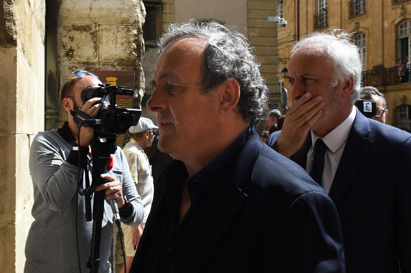 """Michel Platini jest znany z dość """"lekkiego"""" języka /AFP"""