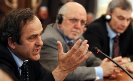 Michel Platini ma powiedzieć o błędach w przygotowaniach do Euro 2012 /AFP