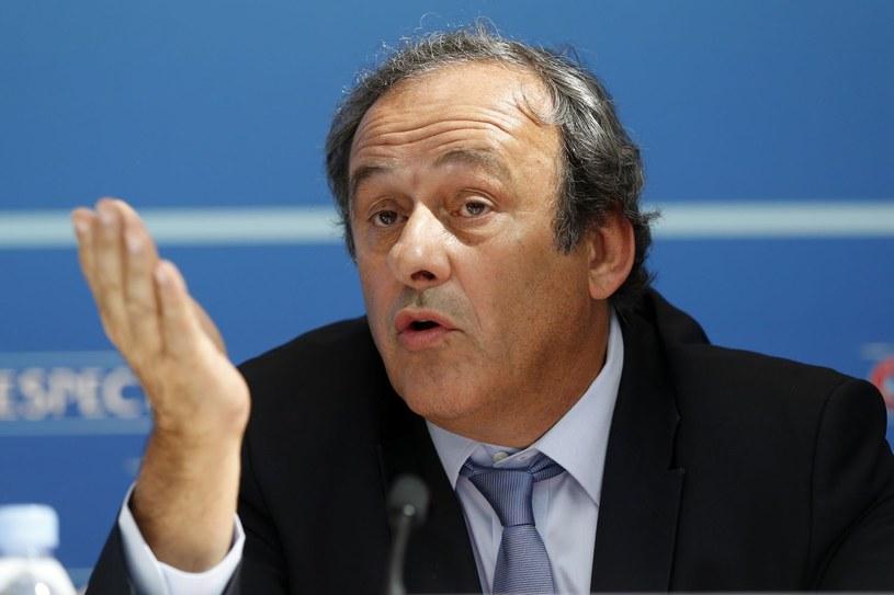 Michel Platini może być największym nieobecnym Euro 2016 /AFP