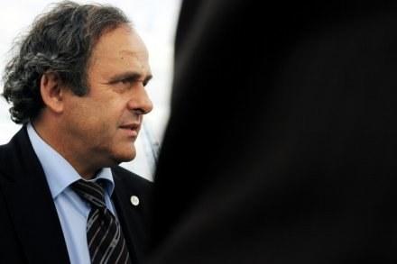 Michel Platini, prezydent UEFA /AFP