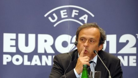 Michel Platini - szef UEFA. /AFP