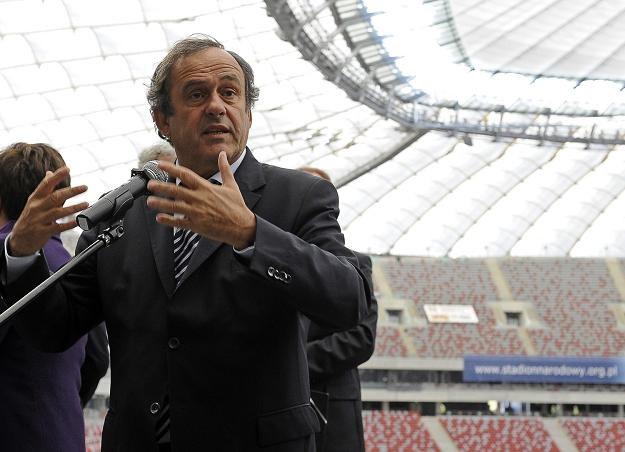 Michel Platini, szef UEFA /AFP