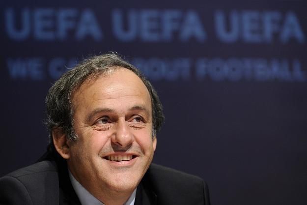 Michel Platini zapewnia, że Ukraina nie zostanie pozbawiona prawa współorganizacji Euro 2012 /AFP