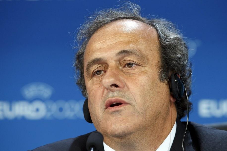 Michel Platini /SALVATORE DI NOLFI PAP/EPA /PAP/EPA