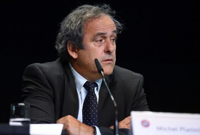 Michel Platini /PAP/EPA