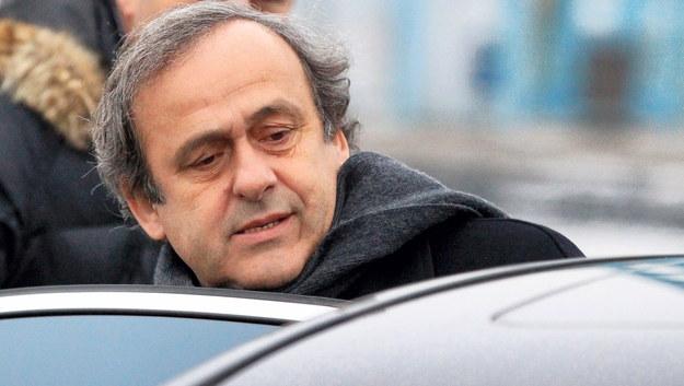 Michel Platini /TATYANA ZENKOVICH  /PAP/EPA
