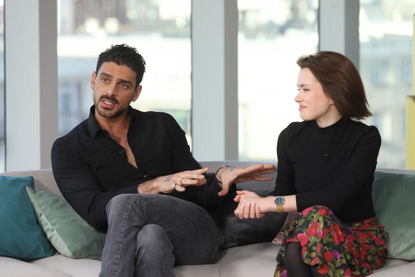 """Michele Morrone to odtwórca głównej roli w filmie """"365 dni"""" /Piotr Molecki /East News"""