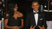"""Michelle i Barack Obama tańczą z boohaterami """"Star Warsa:!"""