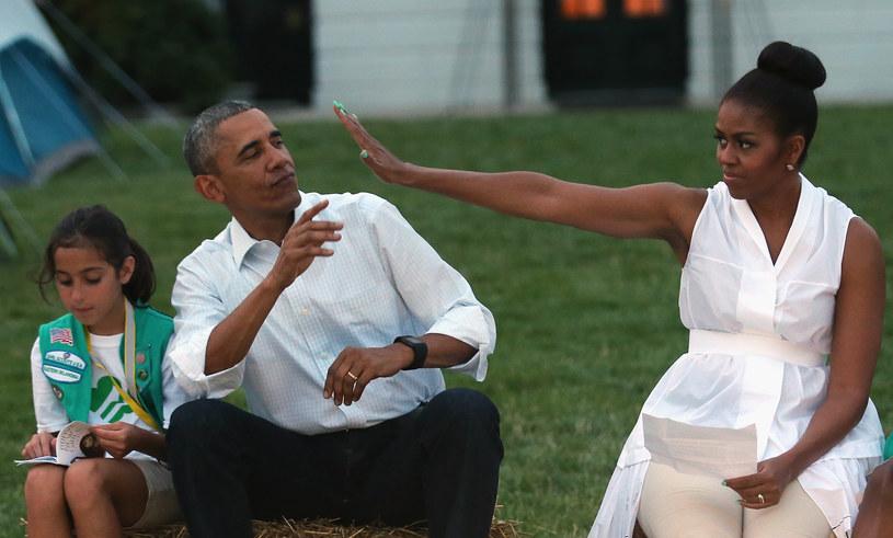 Michelle i Barack Obama /Chip Somodevilla /Getty Images