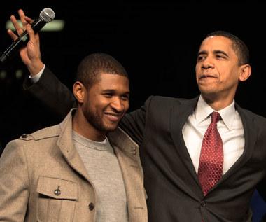 Michelle i Baracka Obama świętują urodziny Ushera