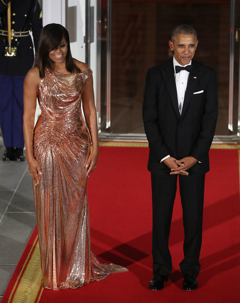 Michelle Obama i Barack Obama /Mark Wilson /Getty Images