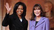 Michelle Obama i Carla Bruni