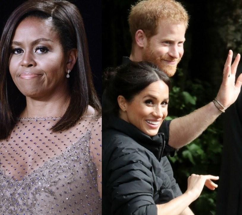 Michelle Obama wsparła Meghan i Harry'ego /EastNews /East News