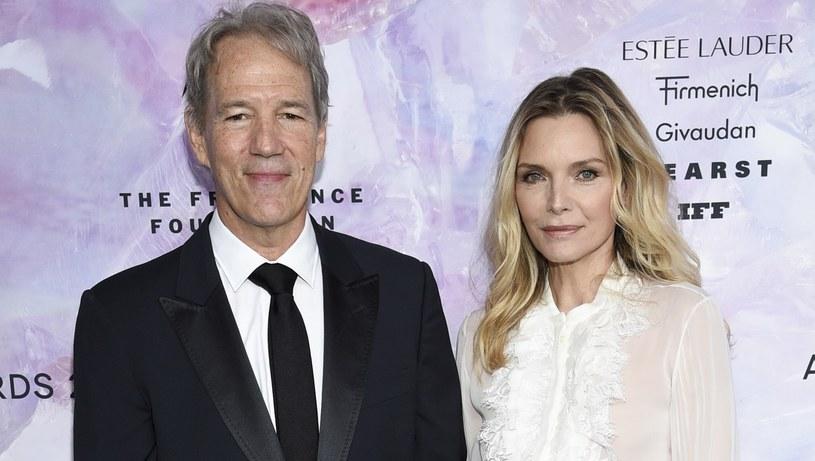 Michelle Pfeiffer i David E. Kelley są małżeństwem od 27 lat /Invision /East News
