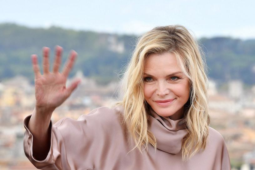 Michelle Pfeiffer nie boi się upływu czasu /TIZIANA FABI/AFP /East News