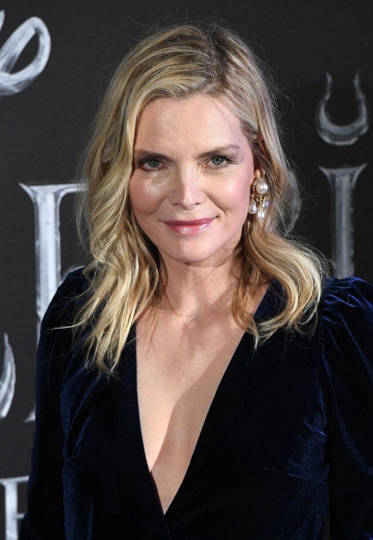Michelle Pfeiffer podczas ubiegłorocznej europejskiej premiery filmu Maleficent: Mistress of Evil / Vandeville Eric/ABACA /East News