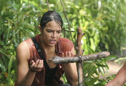 "Michelle Rodriguez w serialu ""Zagubieni"" /"