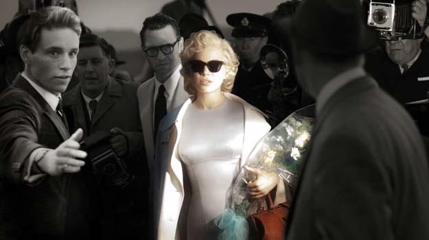 """Michelle Williams jako Marilyn Monroe w filmie """"Mój tydzień z Marilyn"""" /materiały prasowe"""