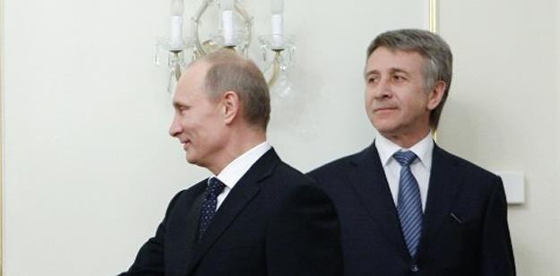 Michelson i prezydent Putin /AFP