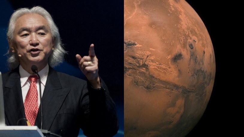 Michio Kaku o tym, jak możemy skolonizować Marsa /AFP