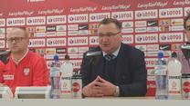 Michniewicz po 0-1 z Portugalią. Wideo