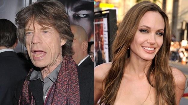Mick Jagger (fot. Michael Loccisano) i Angelina Jolie (fot. Kevin Winter) /Getty Images/Flash Press Media