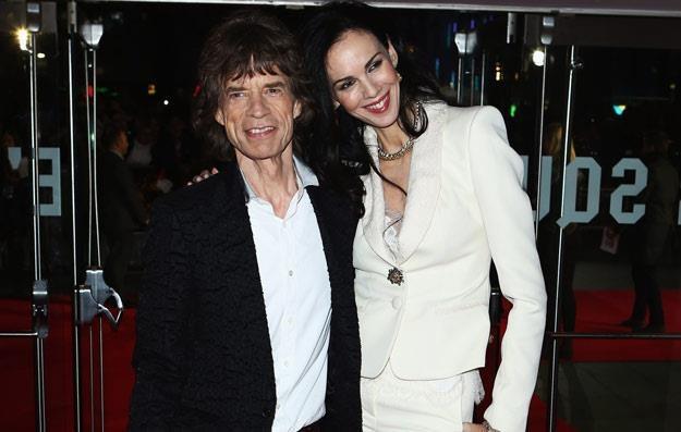 Mick Jagger i L'Wren Scott (fot. Tim Whitby) /Getty Images/Flash Press Media