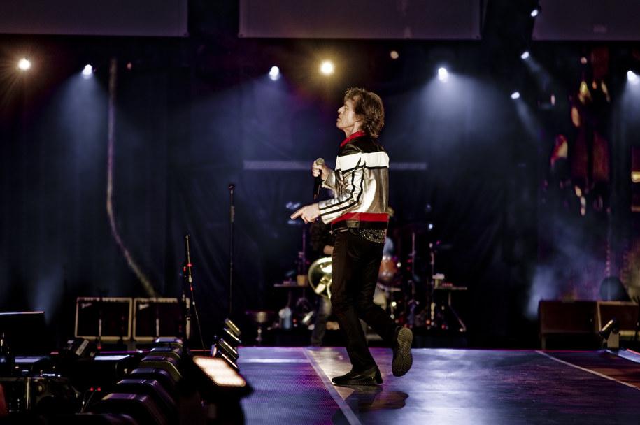 Mick Jagger na koncercie w Londynie /Bogdan Frymorgen /RMF FM