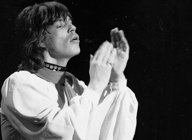 Mick Jagger (The Rolling Stones) w grudniu 1969 roku - fot. C. Maher/Express /Getty Images/Flash Press Media