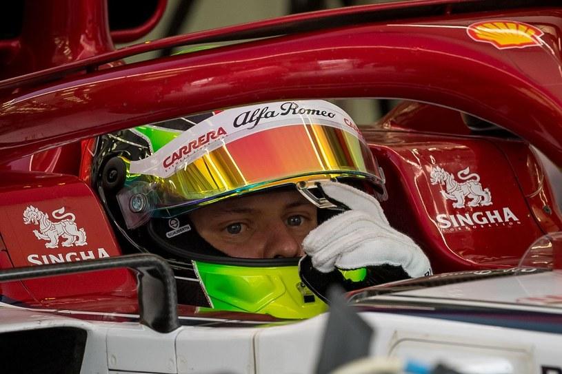Mick Schumacher idzie w ślady ojca /AFP