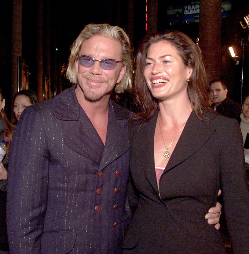 Mickey Rourke, Carre Otis / Kevin Winter /Getty Images