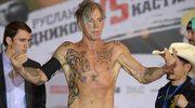 Mickey Rourke na ringu w Moskwie